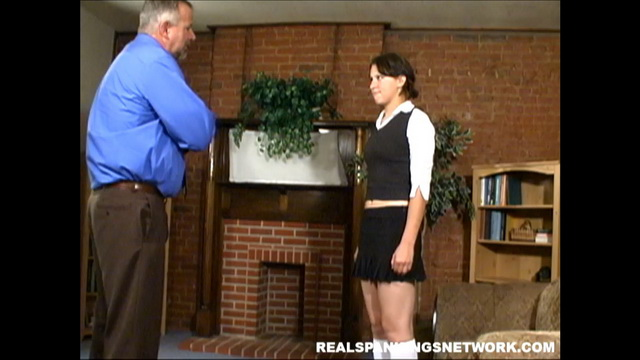 Realspankingsinstitute – An Uncomfortable Spanking For Blake