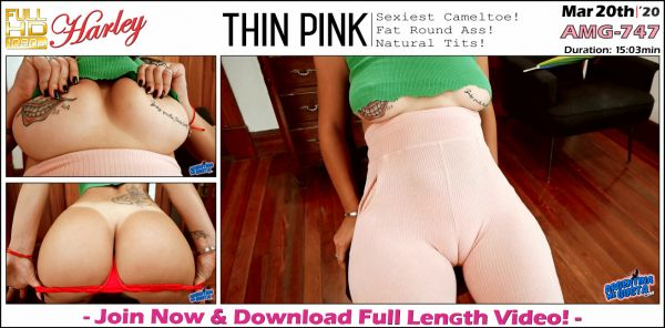 ArgentinaMegusta - Thin Pink - AMG-747 (20.03.2020) with Harley (FullHD/1080p) [2020]