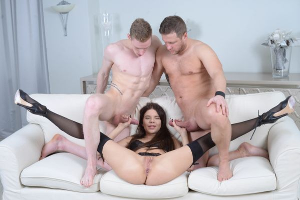 Emily Wilson - Emily Wilson first time DP with Balls Deep Anal, Manhandle, Rough Sex and Cum in the mouth GL139 (HD/2020) by LegalP0rno