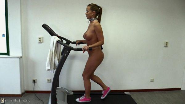 ChastityBabes - Cindy Dollar � Vibrating Egg Run