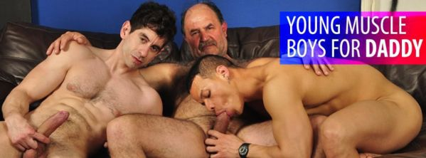 Older4me - Gerardo Mass, Hackman & Victorino - Young Muscle Boys for Daddy