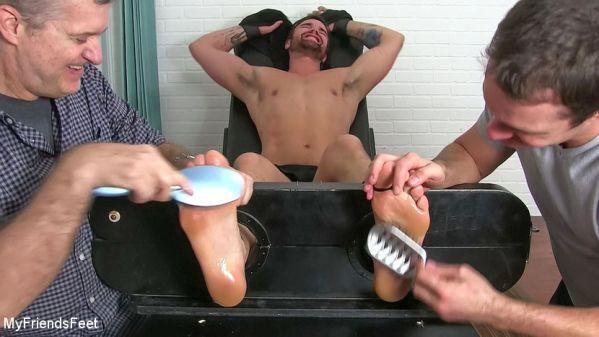 MyFriendsFeet - Big Beau Bested By Tickling