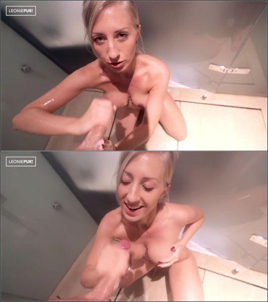 Leonie-pur - Unser Date unter der Dusche! Von mir bekommst du ein Happy End!