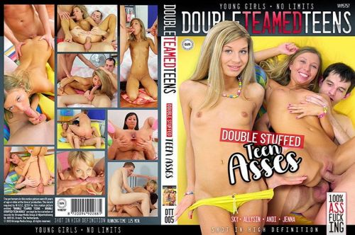 Double Stuffed Teen Asses (2020)