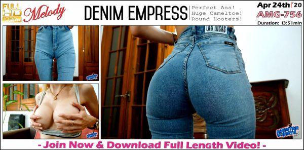 Melody - Denim Empress - AMG-756 (24.04.2020) [FullHD 1080p] (Argentinamegusta)