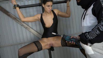Christy On The Leg Spreader