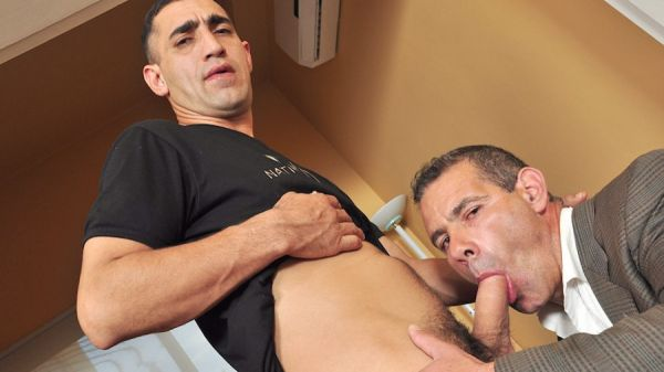 Older4Me - Young Daddy Cums For An Interview