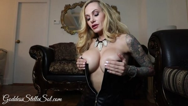 Stella Sol - Stroke For Step-Mommy