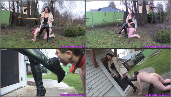 Walking The Bitchboy [GoddessJasmine] Jasmine Mendez (280 MB)