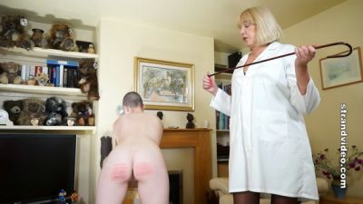 SpankingSarah – Cold Caning The Medical Experiment Part 2