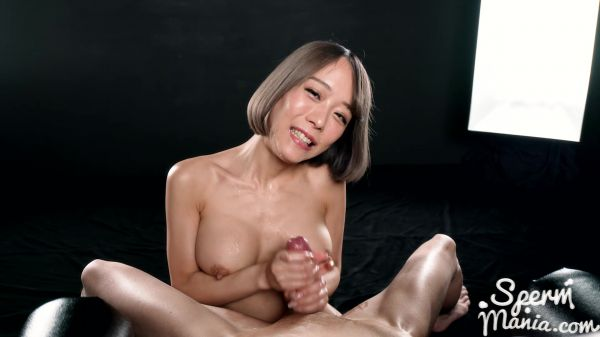 Nanako Nanahara - Jerks Off Cock with Cum (08.05.2020) [FullHD 1080p] (Cum Handjob)