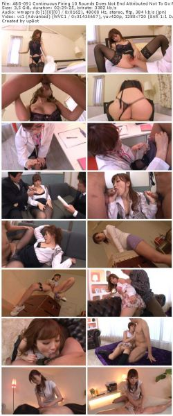 ABS-091 Continuous Firing 10 Rounds Does Not End Attributed Not To Go Rina Kato