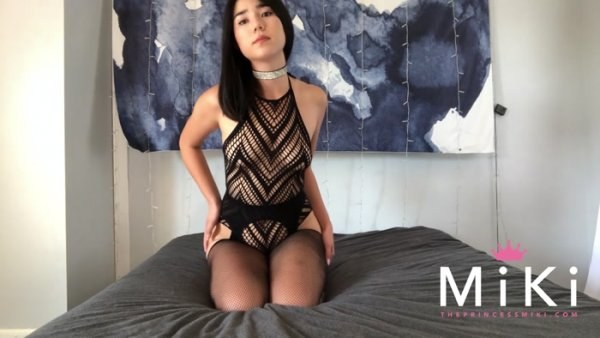 Princess Miki - JOI Cum countdown with a little treat at the end