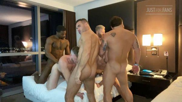 JFF - Jake Nicola Orgy Part 1