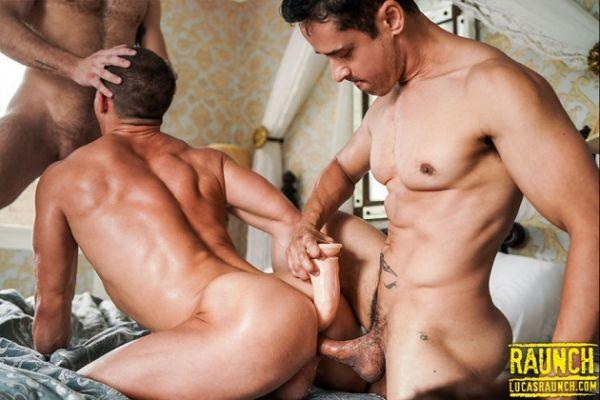 LR - Rafael Alencar And Gabriel Phoenix Double-Fuck Ruslan Angelo