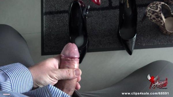 ANGEL THE DREAMGIRL - 530 Cumming In My Secretary's Shoe II