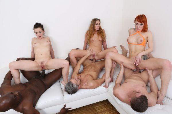 Kessie Shy, Ally Style, Nika - Kinky anal orgy with Kessie Shy, Ally Style Nika KS012 (HD/2020) by LegalP0rno