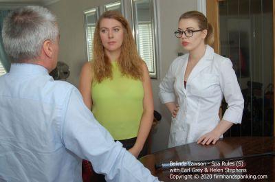 FirmHandSpanking – Belinda Lawson – Spa Rules – S