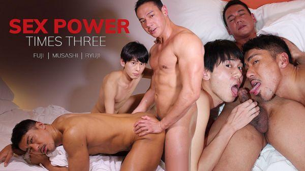 JB - Fuji, Musashi, Ryuji - Sex Power Times Three