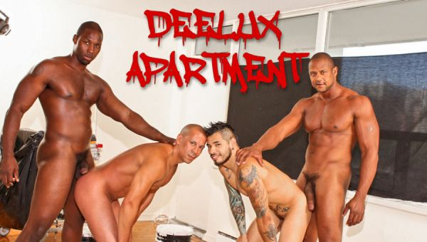 NDE - Deelux Apartment - Nubius, Luc Bonay, Draven Torres, Aron Ridge