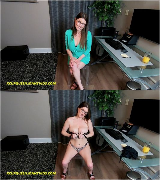 Big Tits - Happy Mothers Day Pt 1 Cumming Together (09.05.2020) with KCupQueen (FullHD/1080p) [2020]