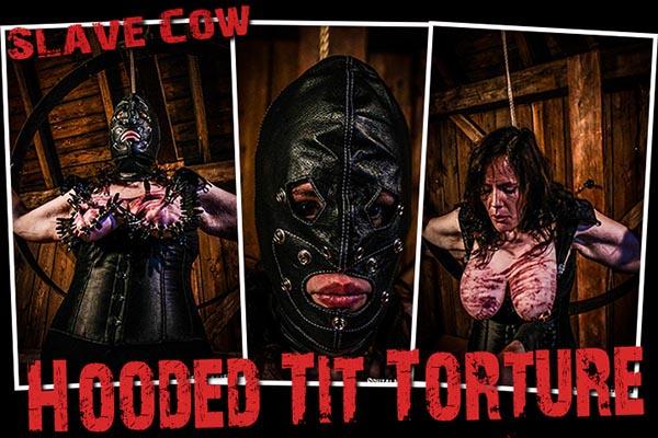 Hooded Tit Torture [BrutalMaster] Slave Cow (285 MB)