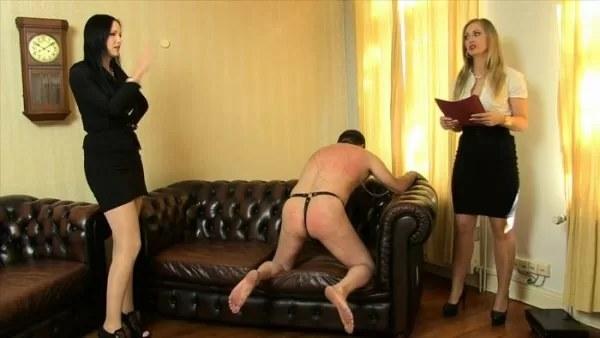 Mistress Nemesis, Countess Stella - Testing New Slaves