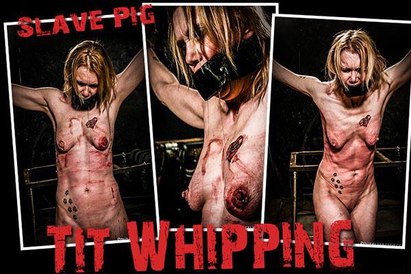 Tit Whipping [BrutalMaster] Slave Pig (168 MB)