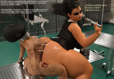 [CBlack] The Covid Strain [3D Porn Comic] futanari