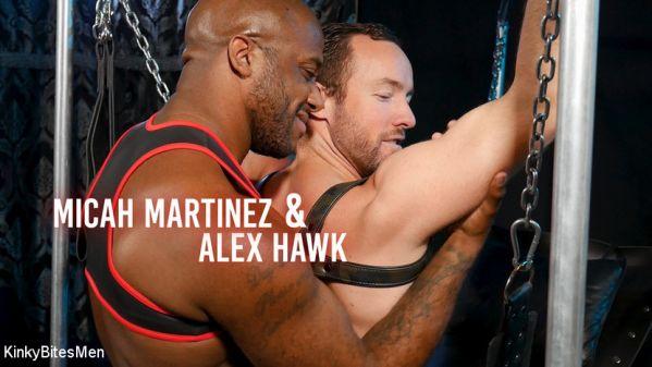 KinkyBitesMen - Daddys Home - Alex Hawk & Micah Martinez Fuck RAW