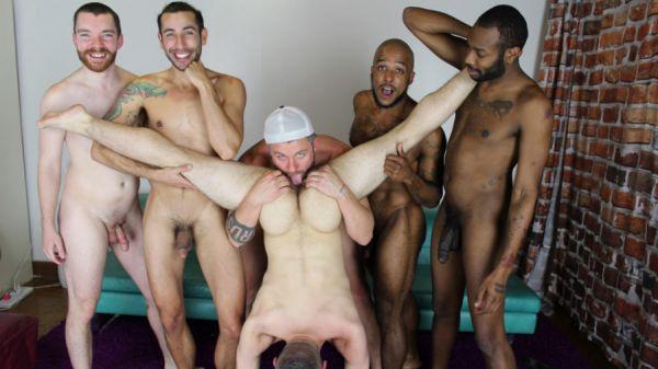 RealMenFuck - Real Men Hot Beard Orgy