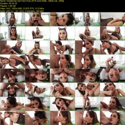 Jane Wilde - Wilde Cat [Throated.com / BlowPass.com / 2019 / FullHD 1080p]