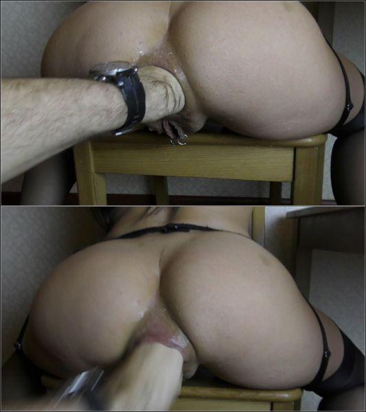 Alisiya Rainbow, Raduga - Raduga sexy girl in stockings squirting [FullHD 1080p] (Anal Fisting)