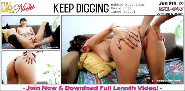 Nicki - Keep Digging - EXL-047 (09.06.2020) [FullHD 1080p] (Extremelatina)