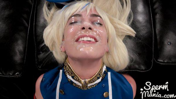 Bukkake: Kristen Scott - Kristen Scott's Sticky Bukkake Facial (12.06.2020) (FullHD/1080p)