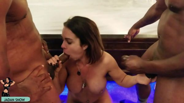Jadan Snow - The BBC Party Crasher 3 [FullHD 1080p] (Interracial)