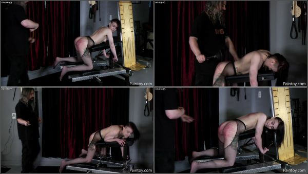 Beaten And Used For Pain Part 6 [PainToy] Abigail Annalee (875 MB)