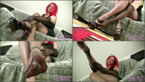 Dangling And Teasing Nylons [Clips4Sale] Nadja (611 MB)