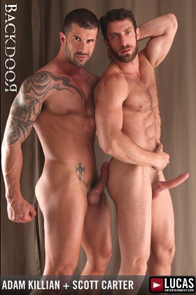 LE - BACKDOOR - Adam Killian and Scott Carter Sweat and Fuck Hard