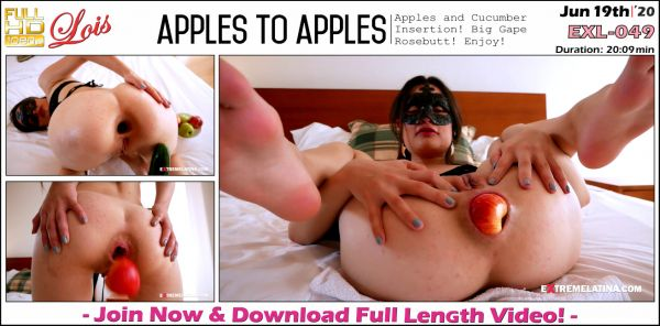Lois - Apples To Apples - EXL-049 (19.06.2020) [FullHD 1080p] (Extremelatina)