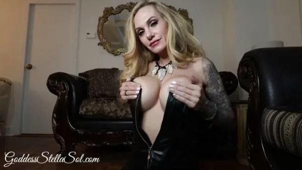 Goddess Stella Sol - Stroke for StepMommy