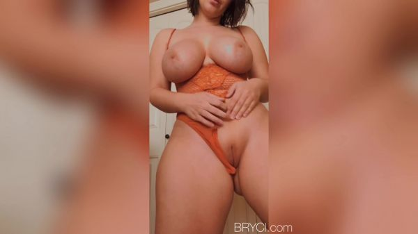 Big Tits: Bryci - Orange Lace (26.06.2020) (FullHD/1080p)