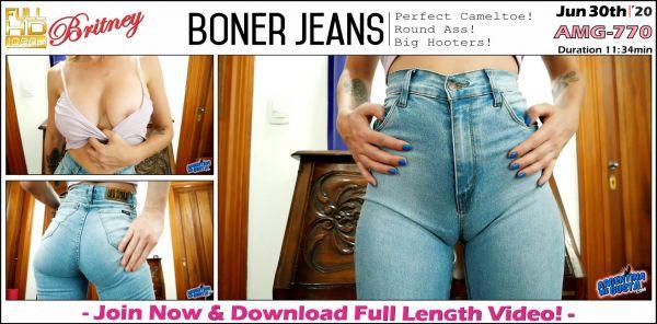 ArgentinaMegusta - Boner Jeans - AMG-770 (30.06.2020) with Britney (FullHD/1080p) [2020]