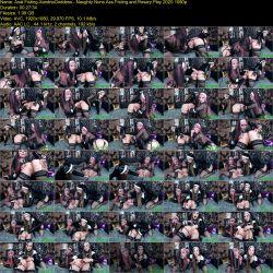 XandriaGoddess and DollFaceMonica - Naughty Nuns Ass Fisting and Rosary Play (2020 / 1080p)