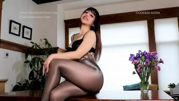 Goddess Alexa Divina - Bisexual Cock Tease and Control