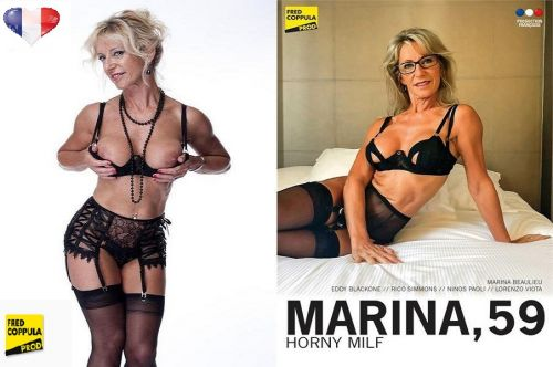 Marina 59 Ans, MILF Cochonne (2020)