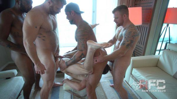 RawFuckclub - Muscle Fuck Orgy part 1 - Michael Roman, Cain Marko, Jack Vidra, Nick Milani, August Alexander