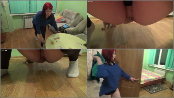 Tipsy Peeing On Floor In Hotel - RussianBeauty - FetishMania