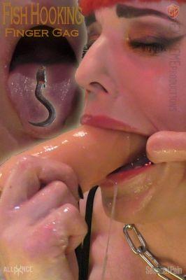 SensualPain – Jul 12, 2020: Fish Hooking Finger Gag | Abigail Dupree