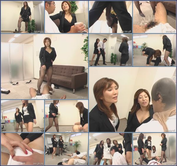 NFDM-084 Arrogant Beautiful Boss - Scolded And Kicked In The Balls JAV Femdom